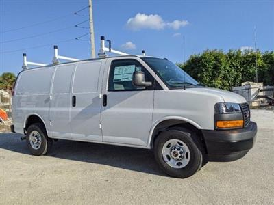 2021 GMC Savana 2500 4x2, Upfitted Cargo Van #T21082 - photo 5