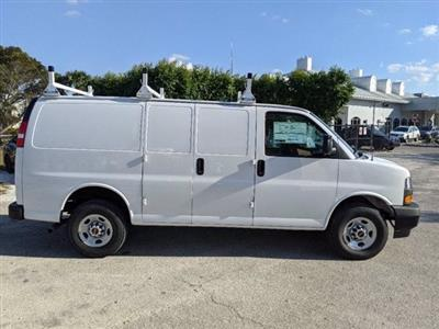 2021 GMC Savana 2500 4x2, Upfitted Cargo Van #T21082 - photo 7