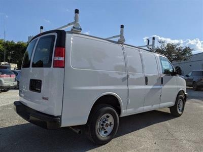 2021 GMC Savana 2500 4x2, Upfitted Cargo Van #T21082 - photo 9