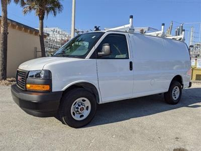 2021 GMC Savana 2500 4x2, Upfitted Cargo Van #T21082 - photo 4