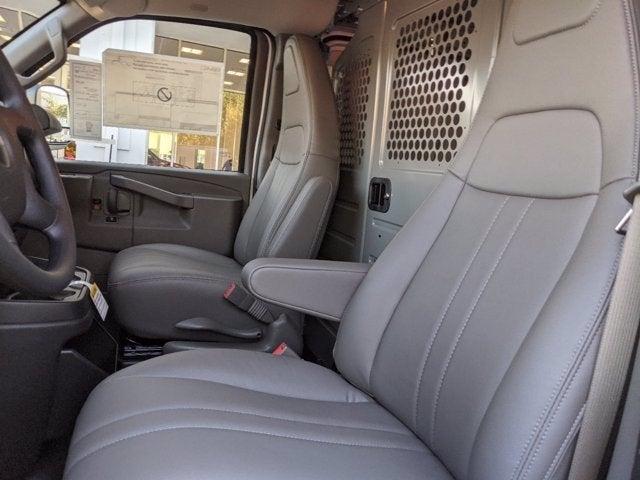 2021 GMC Savana 2500 4x2, Adrian Steel Upfitted Cargo Van #T21083 - photo 17