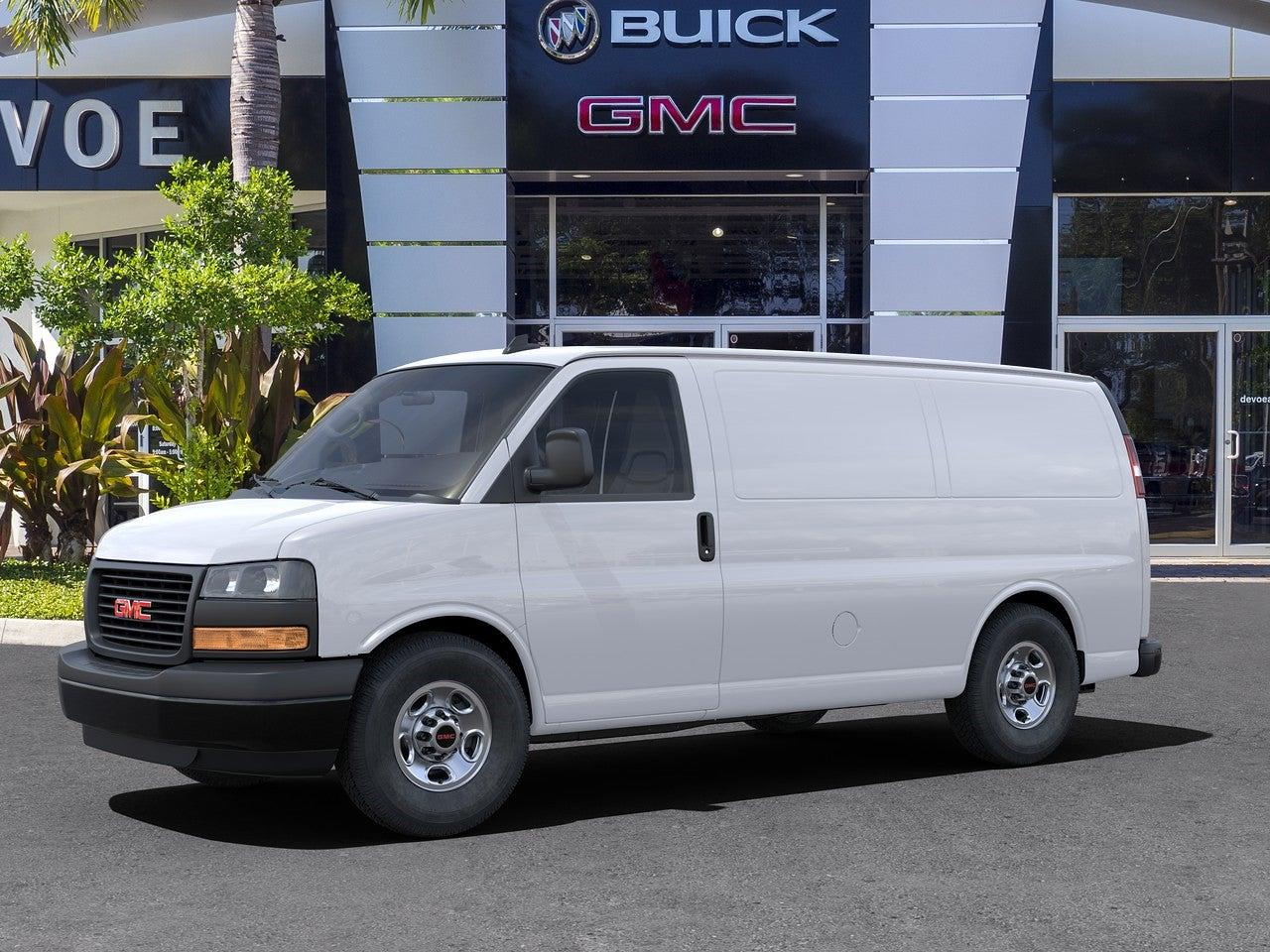 2021 GMC Savana 2500 4x2, Empty Cargo Van #T21138 - photo 4