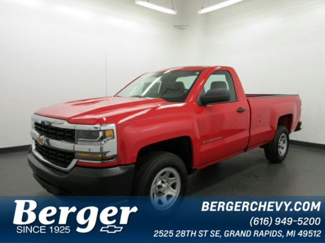 2017 Silverado 1500 Regular Cab 4x4 Pickup #17K461 - photo 1