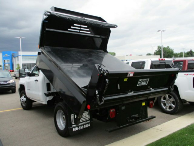2017 Silverado 3500 Regular Cab 4x4, Dump Body #17K654C - photo 2