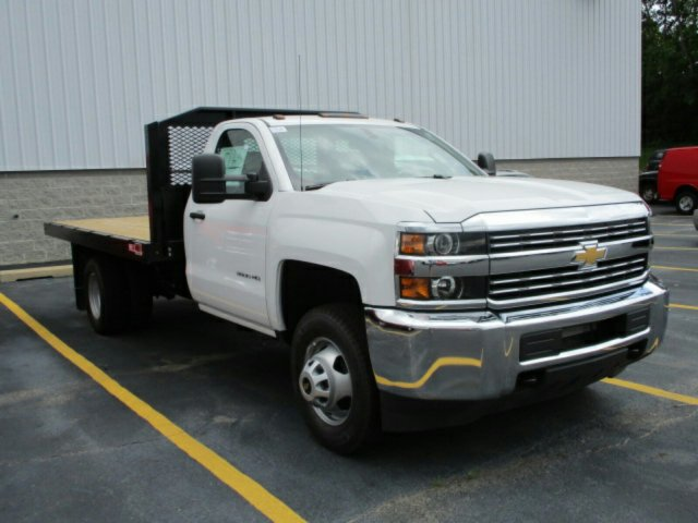 2017 Silverado 3500 Regular Cab Platform Body #17K676C - photo 4