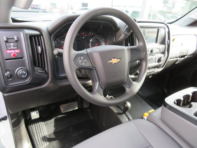 2018 Silverado 3500 Regular Cab DRW 4x4, Dump Body #18K248W - photo 7