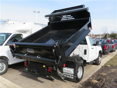 2018 Silverado 3500 Regular Cab DRW 4x4, Dump Body #18K248W - photo 2