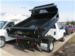 2018 Silverado 3500 Regular Cab DRW 4x4, Dump Body #18K248W - photo 1