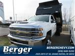 2018 Silverado 3500 Regular Cab DRW 4x4,  Monroe Dump Body #18K248W - photo 1