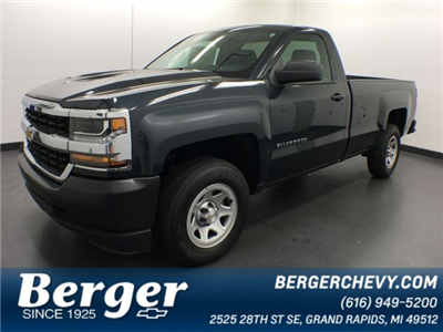 2018 Silverado 1500 Regular Cab 4x4,  Pickup #18K492W - photo 1