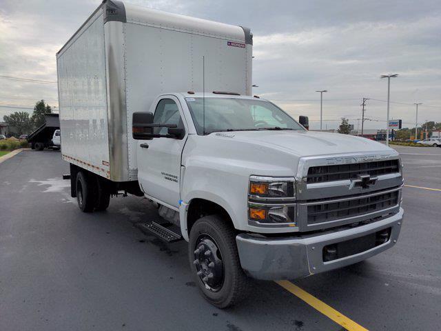 2021 Silverado 5500 Regular Cab DRW 4x2,  Morgan Truck Body Gold Star Dry Freight #21MD11W - photo 4