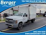 2021 Silverado 5500 Regular Cab DRW 4x2,  Morgan Truck Body Gold Star Dry Freight #21MD11W - photo 1