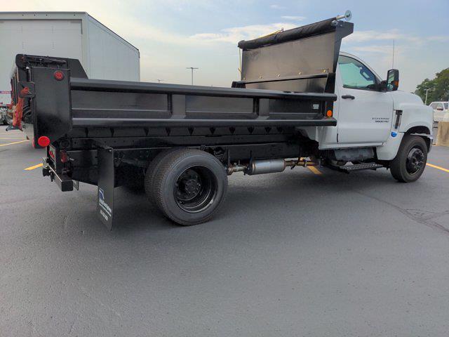 2021 Silverado 5500 Regular Cab DRW 4x2,  Galion 100U Dump Body #21MD14W - photo 3