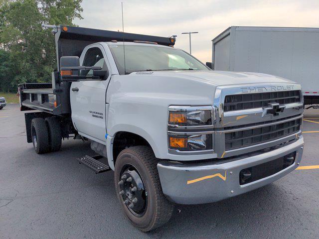 2021 Silverado 5500 Regular Cab DRW 4x2,  Galion 100U Dump Body #21MD14W - photo 4