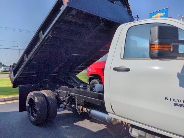 2021 Silverado 5500 Regular Cab DRW 4x2,  Galion 100U Dump Body #21MD14W - photo 18