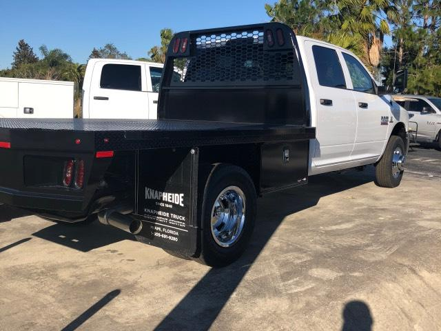 2018 Ram 3500 Crew Cab DRW 4x4, Platform Body #JG164579 - photo 2