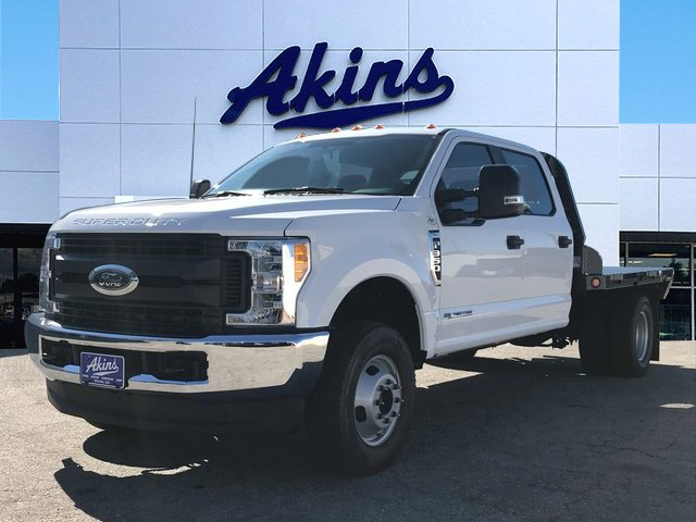 2017 F-350 Crew Cab DRW 4x4, Freedom Rodeo Platform Body #HEE35809 - photo 1