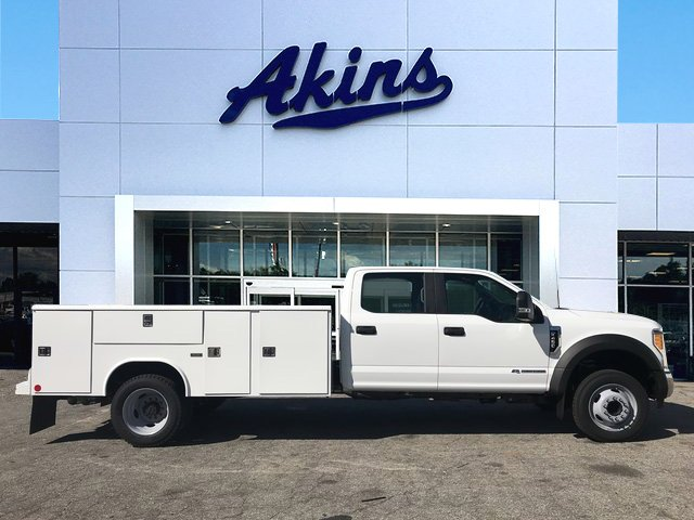 2017 F-450 Crew Cab DRW, Reading Classic II Steel Service Body #HEE87339 - photo 1