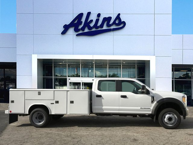 2017 F-450 Crew Cab DRW, Reading Classic II Steel Service Body #HEF23163 - photo 1