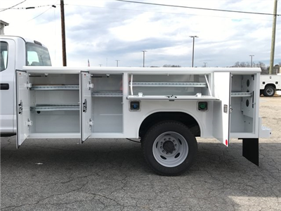 2017 F-450 Crew Cab DRW, Reading Classic II Steel Service Body #HEF23163 - photo 10