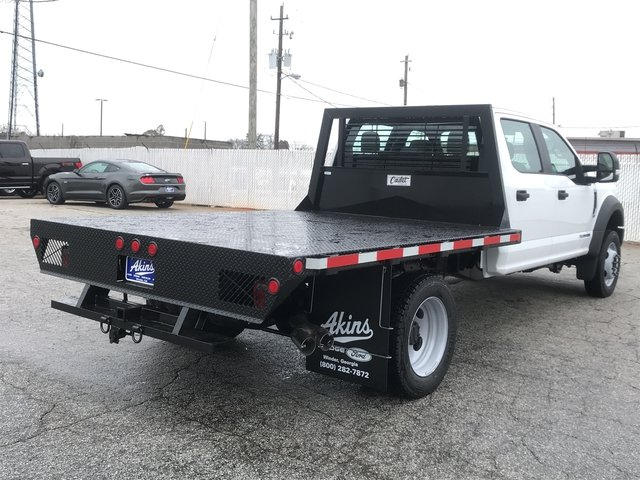 2017 F-550 Crew Cab DRW 4x4, Cadet Platform Body #HEF23169 - photo 2