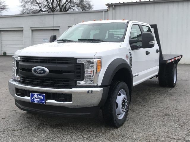 2017 F-550 Crew Cab DRW 4x4, Cadet Platform Body #HEF23169 - photo 5