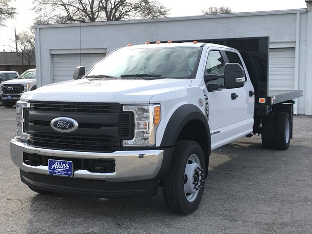 2017 F-550 Crew Cab DRW 4x4, Knapheide Platform Body #HEF40488 - photo 5