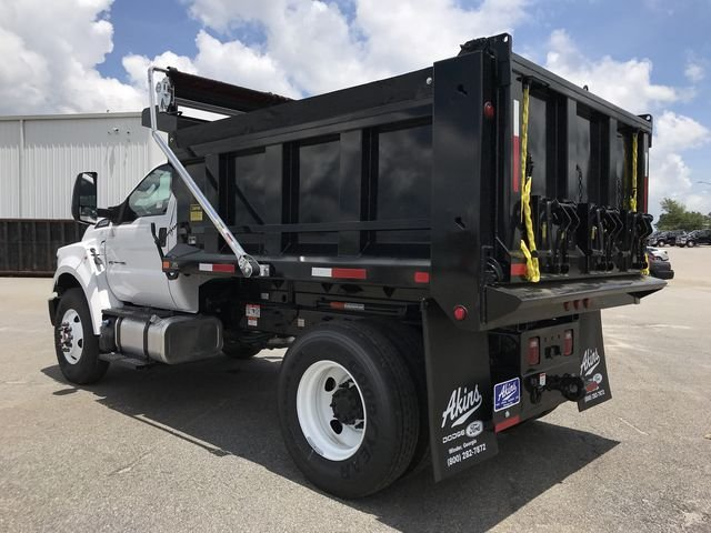 2018 F-750 Regular Cab DRW 4x2,  Godwin Manufacturing Co. Dump Body #JDF03489 - photo 4