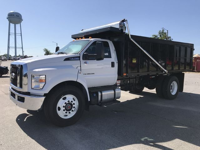 2018 F-750 Regular Cab DRW 4x2,  PJ's Truck Bodies & Equipment Landscape Dump #JDF03725 - photo 5