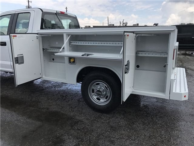 2018 F-250 Super Cab 4x2,  Reading SL Service Body #JEC70060 - photo 10
