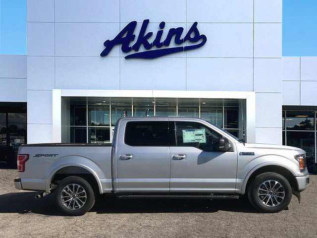 2018 F-150 Crew Cab, Pickup #JFB50029 - photo 1
