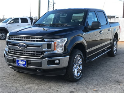 2018 F-150 Crew Cab 4x4, Pickup #JFB73036 - photo 5