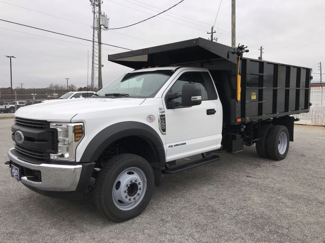 2019 F-550 Regular Cab DRW 4x2,  PJ's Landscape Dump #KDA04494 - photo 5