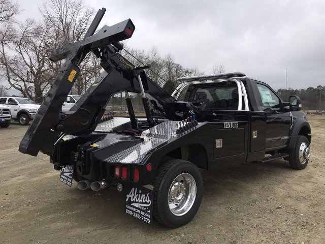 2019 F-550 Regular Cab DRW 4x4,  Vulcan Wrecker Body #KDA06540 - photo 2