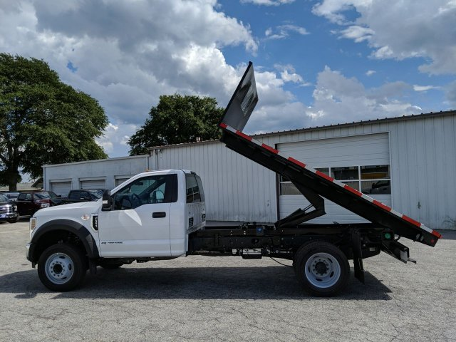 2019 F-550 Regular Cab DRW RWD, Smyrna Truck Platform Body #KDA19727 - photo 21