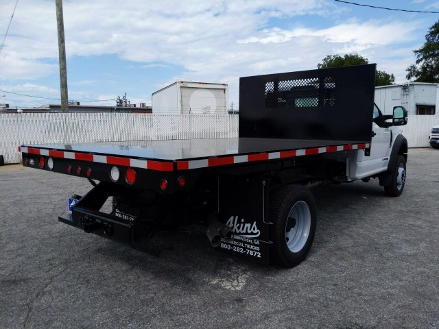 2019 F-550 Regular Cab DRW RWD, Smyrna Truck Platform Body #KDA19727 - photo 1