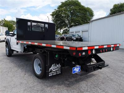 2019 F-550 Regular Cab DRW RWD, Smyrna Truck Platform Body #KDA19727 - photo 4