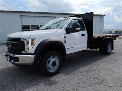 2019 F-550 Regular Cab DRW RWD, Smyrna Truck Platform Body #KDA19727 - photo 5