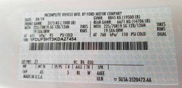 2019 F-550 Regular Cab DRW 4x4, PJ's Platform Body #KDA27454 - photo 12