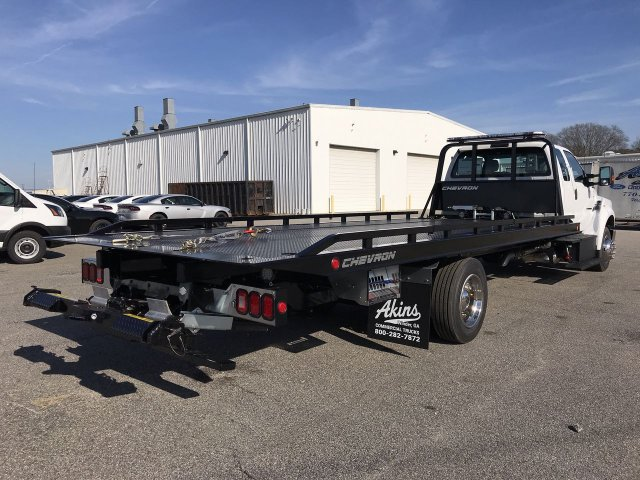 2019 F-650 Super Cab DRW 4x2,  Chevron Rollback Body #KDF01732 - photo 2