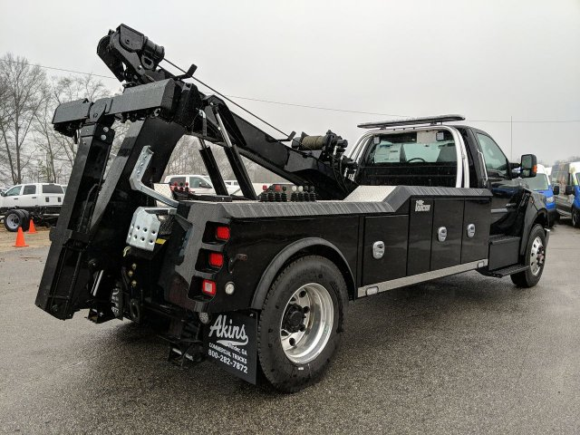 2019 Ford F-750 Regular Cab DRW 4x2, Miller Industries Wrecker Body #KDF13114 - photo 1