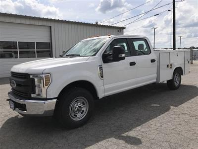 2019 F-250 Crew Cab 4x2,  Reading Classic II Steel Service Body #KEC25535 - photo 6