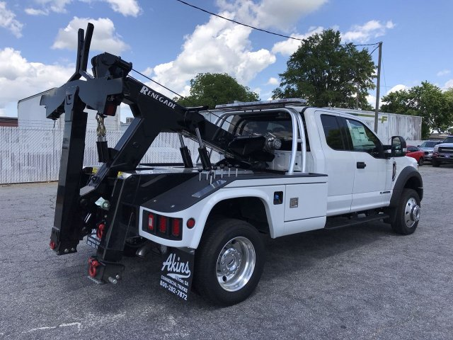 2019 F-550 Super Cab DRW 4x4,  Miller Industries Wrecker Body #KEC44498 - photo 2