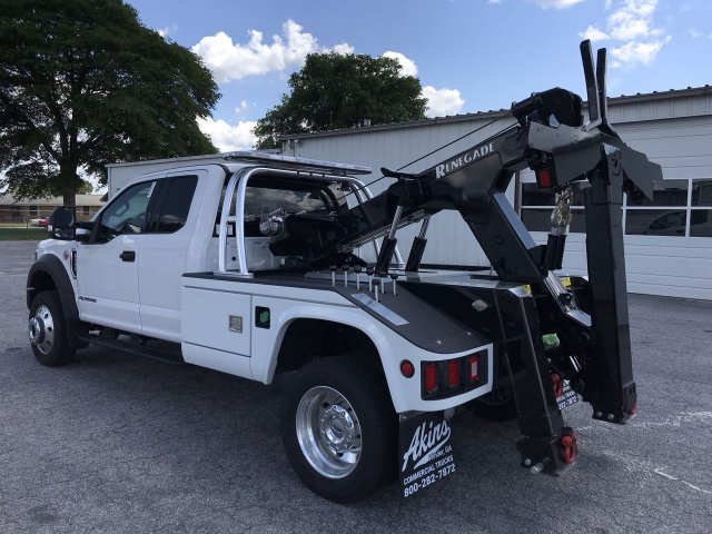 2019 F-550 Super Cab DRW 4x4,  Miller Industries Wrecker Body #KEC44498 - photo 4