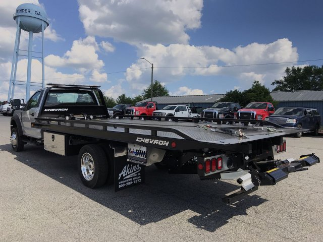 2019 F-550 Regular Cab DRW RWD,  Miller Industries Rollback Body #KEC63389 - photo 4