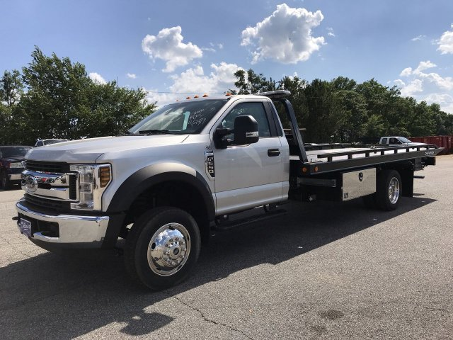 2019 F-550 Regular Cab DRW RWD,  Miller Industries Rollback Body #KEC63389 - photo 5