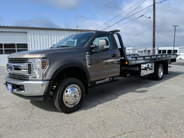 2019 F-550 Regular Cab DRW RWD,  Miller Industries Rollback Body #KEC63393 - photo 5