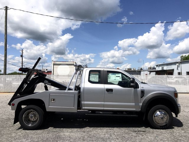 2019 F-450 Super Cab DRW RWD,  Vulcan Wrecker Body #KEC63401 - photo 4