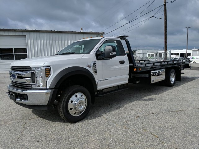 2019 F-550 Regular Cab DRW RWD,  Miller Industries Rollback Body #KEC92524 - photo 5