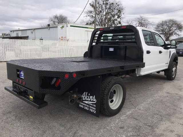 2019 F-450 Crew Cab DRW 4x4,  Freedom Platform Body #KED02630 - photo 5